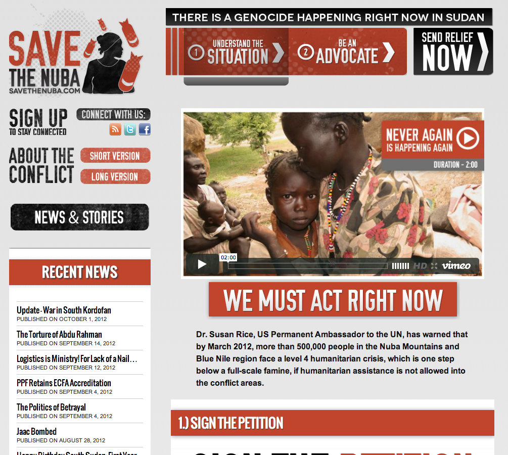 Save the Nuba